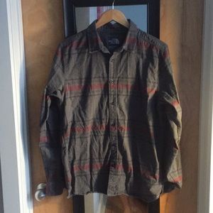 North Face Plaid Woven